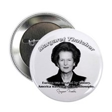 "Margaret Thatcher 02 2.25"" Button (100 pack)"