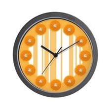 Orange Dream Wall Clock