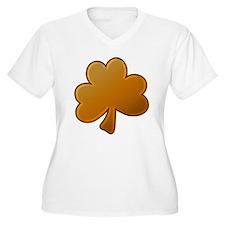 Orange Shamrock T-Shirt