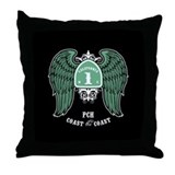 Coast the Coast -wing Throw Pillow