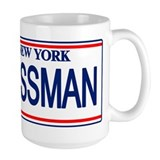 Seinfeld Ass Man License Plat Coffee Mug