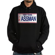 Seinfeld Ass Man License Plat Hoodie