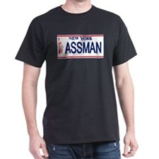 Seinfeld Ass Man License Plat T-Shirt