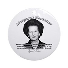 Margaret Thatcher 04 Ornament (Round)