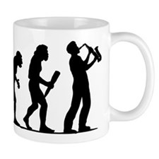 Saxophone Player Mug