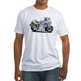 Hayabusa White-Blue Bike Shirt