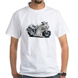 Hayabusa White Bike Shirt