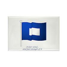 Blue Peter Rectangle Magnet