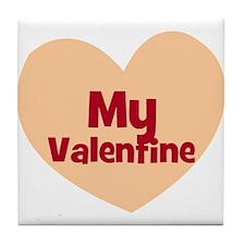My Valentine Tile Coaster