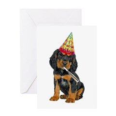 Gordon Setter Birthday Card