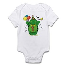 Happy Turtle 1st Birthday Infant Bodysuit