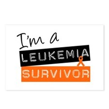 I'm a Leukemia Survivor Postcards (Package of 8)