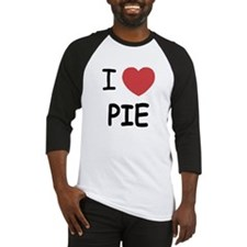 I heart pie Baseball Jersey