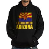 I stand with Arizona Hoodie