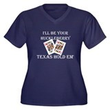 Ill be your huckleberry Women's Plus Size V-Neck D