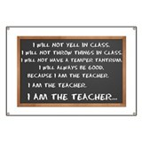 I AM THE TEACHER 1 Banner