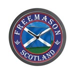 Scottish Masons Wall Clock
