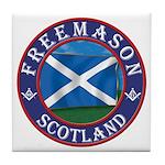 Scottish Masons Tile Coaster