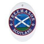 Scottish Masons Ornament (Oval)