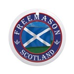Scottish Masons Ornament (Round)