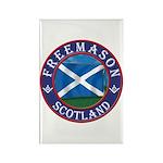 Scottish Masons Rectangle Magnet