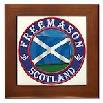 Scottish Masons Framed Tile