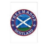Scottish Masons Postcards (Package of 8)