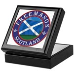 Scottish Masons Keepsake Box