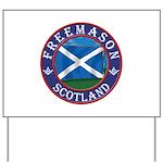 Scottish Masons Yard Sign