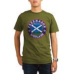 Scottish Masons Organic Men's T-Shirt (dark)