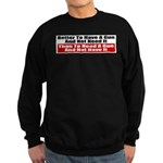 Better to Have a Gun Sweatshirt (dark)