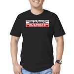 Better to Have a Gun Men's Fitted T-Shirt (dark)