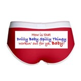 Cute Spilly Women's Boy Brief