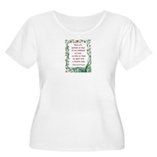 Childhood Spent With A Book T-Shirt