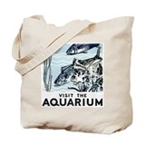 Visit The Aquarium Tote Bag