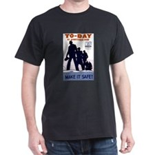 To-Day Black T-Shirt