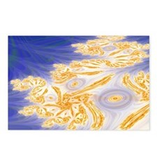 Beach Fractal Postcards (Package of 8)