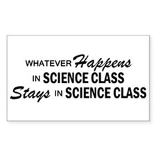 Whatever Happens - Science Class Decal
