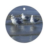 Seagull Heaven Ornament (Round)