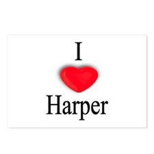 Harper Postcards (Package of 8)