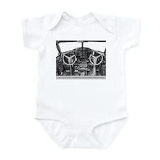 B-17 Cockpit Infant Creeper