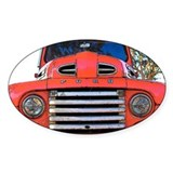 Cute Antique truck Decal