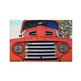 Cute Antique pickup Rectangle Magnet