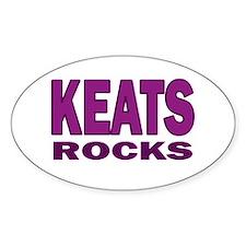 Keats Rocks Decal