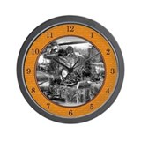 Logging Wall Clock 1