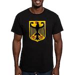 BUNDESREPUBLIK DEUTSCHLAND Men's Fitted T-Shirt (d