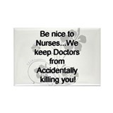 Cute Medical school Rectangle Magnet