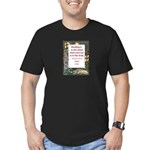 Reading Is To The Mind Men's Fitted T-Shirt (dark)