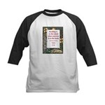Reading Is To The Mind Kids Baseball Jersey