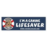 Canine Lifeline Bumper Sticker